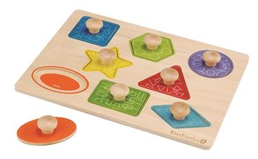 Bilde av EverEarth Pull out shape puzzle