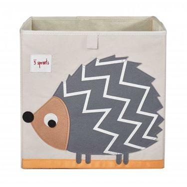 Bilde av 3 Sprouts Oppbevaringskasse, Hedgehog