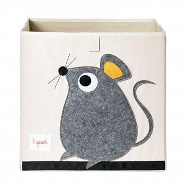 Bilde av 3 Sprouts Oppbevaringskasse, Mouse