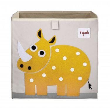 Bilde av 3 Sprouts Oppbevaringskasse, Rhino
