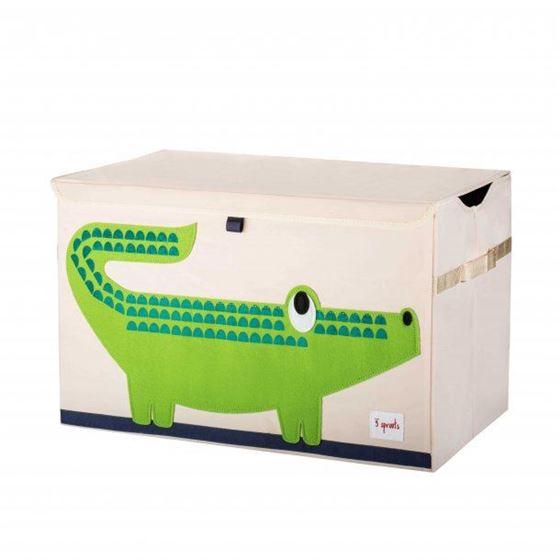 Bilde av 3 Sprouts Lekekiste, Crocodile