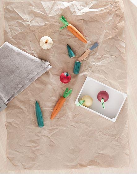 Bilde av Kids Concept Lekemat: Blandede Grønnsaker