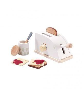 Bilde av Kids Concept Lekemat: Brød og Brødristersett