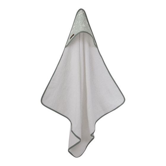 Bilde av Little Dutch Hooded towel, adventure mint
