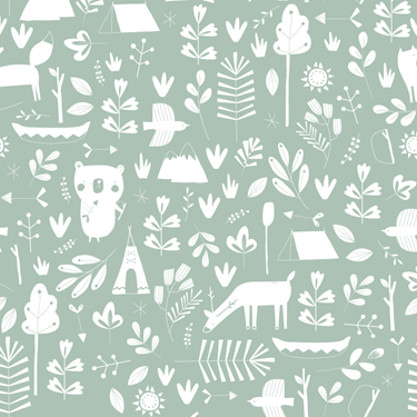 Bilde av Little Dutch Wallpaper, mint