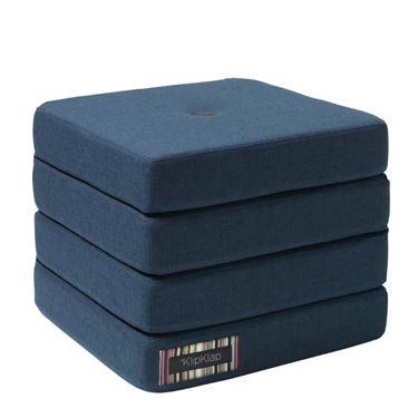 Bilde av byKlipKlap 4Fold - Dark blue with black buttons