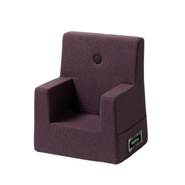 Bilde av By KlipKlap Kids Chair - Plum with plum buttons