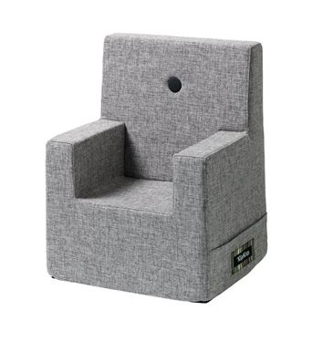 Bilde av byKlipKlap Kids Chair XL - Multi grey with grey buttons