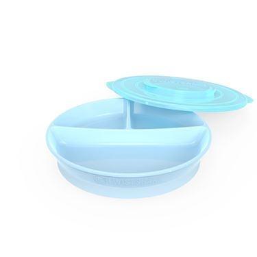 Bilde av Twistshake Divided Plate 6+m Pastel Blå