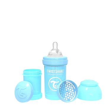 Bilde av Twistshake Tåteflaske, Anti-Colic 180ml, Pastel Blå