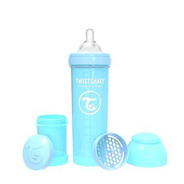 Bilde av Twistshake Tåteflaske, Anti-Colic 330ml, Pastel Blå
