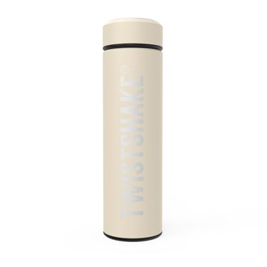 Bilde av Twistshake Hot or Cold Bottle 420ml Pastel Beige