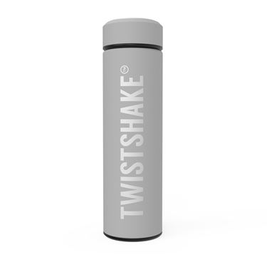 Bilde av Twistshake Hot or Cold Bottle 420ml Pastel Grå