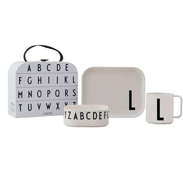 Bilde av Design Letters Tritan Spisesett Gavepakke, L