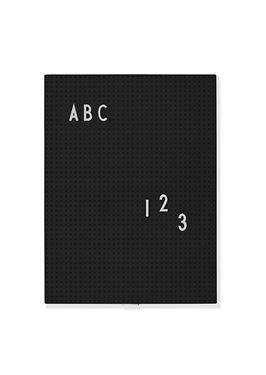 Bilde av Design Letters Oppslagstavle Sort A4