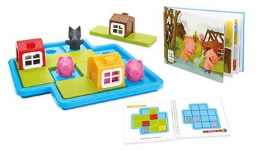 Bilde av Smart Games Three little piglets barnespill