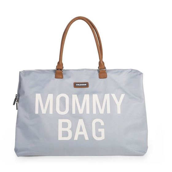 Bilde av Childhome Mommy bag, Grå/Offwhite