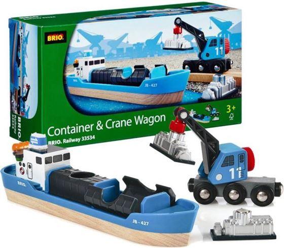 Bilde av BRIO Containerskip