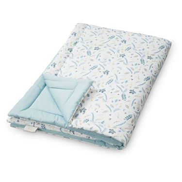 Bilde av CAM CAM Soft Blanket, P28 Pressed Leaves Blue