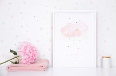 Bilde av Lilipinso Stardust (Sweet Light Pink) - Poster (Art Print)