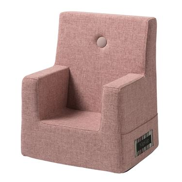 Bilde av By KlipKlap Kids Chair - Soft rose with rose buttons
