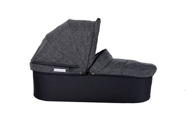 Bilde av TFK Twin Carrycot (med adapter), Premium Anthrazit