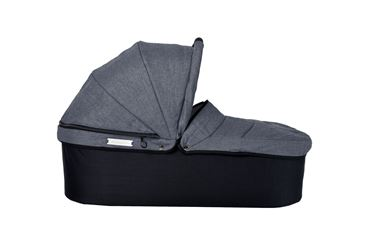 Bilde av TFK Twin Carrycot (med adapter), Premium Grey
