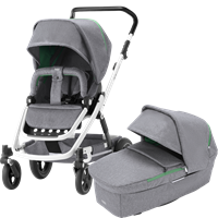 Bilde av Britax GO Next2 White, Dynamic Grey