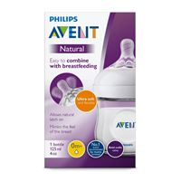 Bilde av Philips Avent Tåteflaske Natural, 125ml