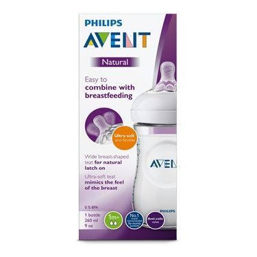 Bilde av Philips Avent Tåteflaske Natural, 260ml