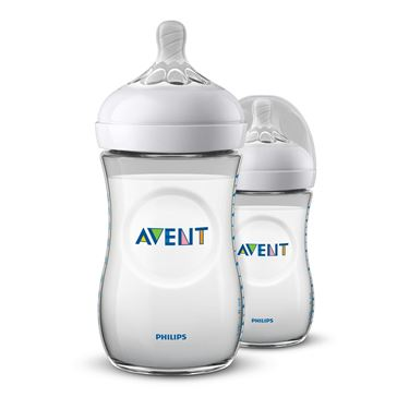 Bilde av Philips Avent Tåteflaske Natural, 260ml, 2pk