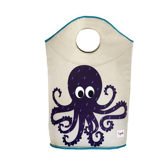Bilde av 3 Sprouts Skittentøyskurv, Octopus
