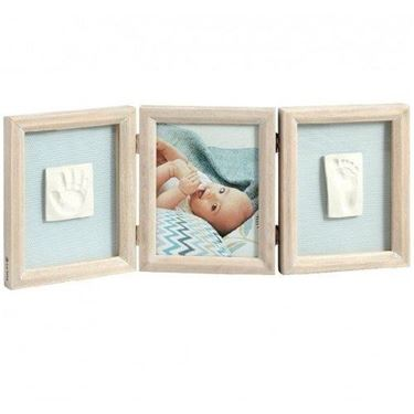 Bilde av Baby Art My Baby Touch, Dobbelt Gipsavstøp + Bilderamme