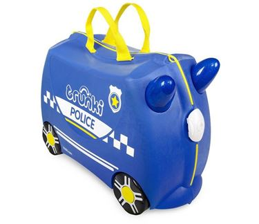 Bilde av Trunki Barnekoffert, Ride-On, Percy Politibil