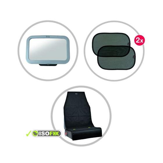 Bilde av Britax Biltilbehørspakke med Sparkebeskytter, Solskjerm og Baksetespeil