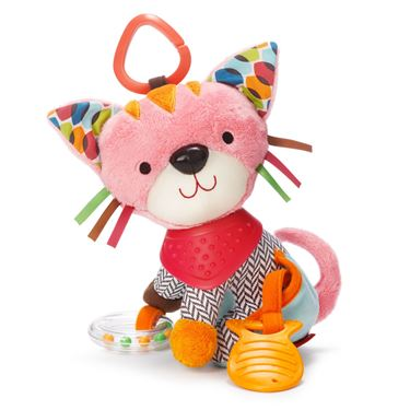 Bilde av SkipHop Bandana Buddies Stroller Toy, Kitty