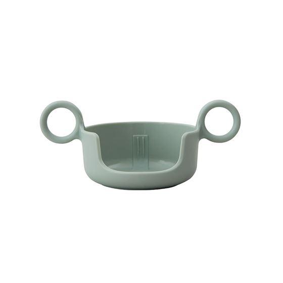 Bilde av Design Letters Håndtak til melamin kopp, Grønn