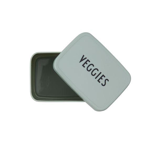 Bilde av Design Letters Snack box - VEGGIES/Green