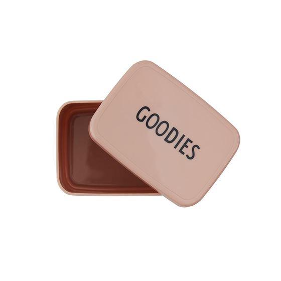 Bilde av Design Letters Snack Box - GOODIES/Nude