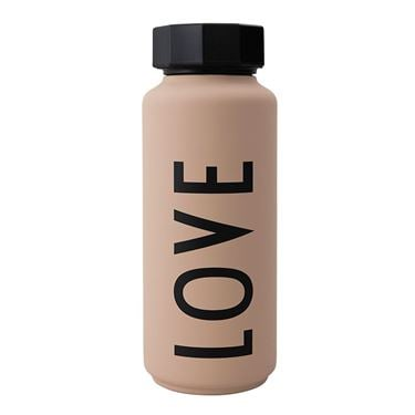 Bilde av Design Letters Thermo Bottle Special Edt. Nude LOVE