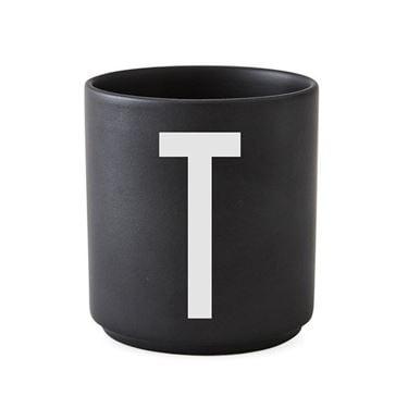 Bilde av Design Letters Porselenskopp, Sort, T