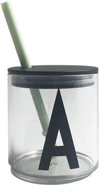 Bilde av Design Letters Straw Lid, Green