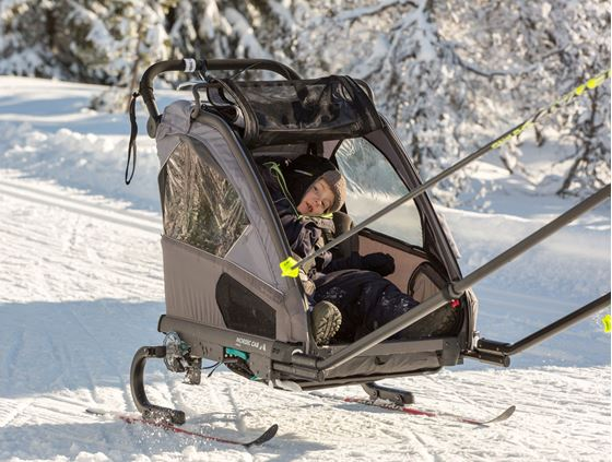 Bilde av Nordic Cab Urban+ med Skisett | UNPUB