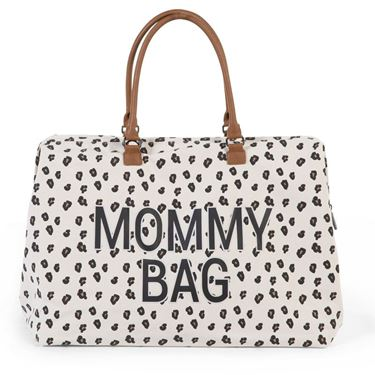 Bilde av Childhome Mommy Bag, Stor Leopard Canvas