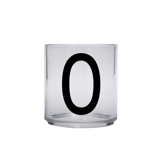 Bilde av Design Letters Drikkeglass, O