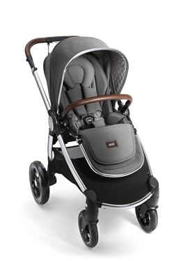 Bilde av Mamas&Papas Duovogn Ocarro, Grey Twill, 4pcs Bundle of Joy