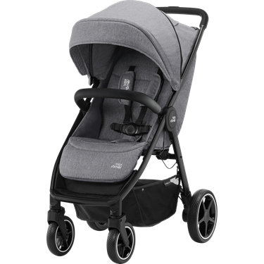Bilde av Britax B-Agile R, Elephant Grey, Black Handle