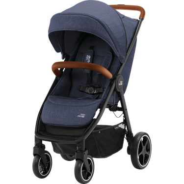Bilde av Britax B-Agile R, Navy Ink, Brown Handle