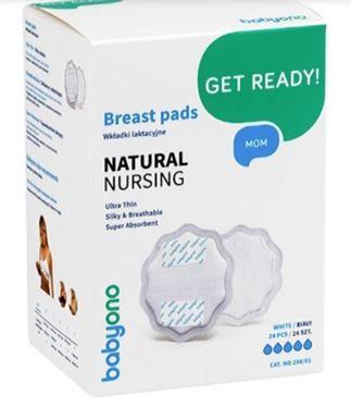 Bilde av Babyono Ammeinnlegg, Natural Nursing, 24 stk