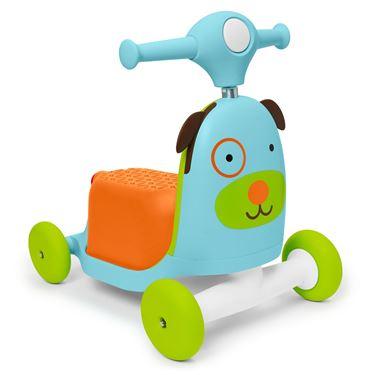 Bilde av Skip Hop Ride-On Toy, 3-i-1, Hund